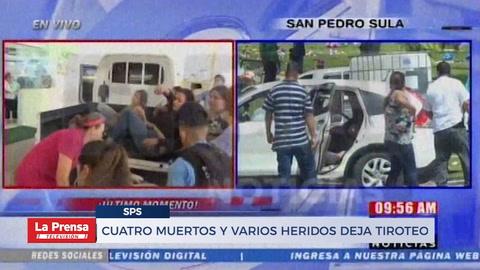 Cuatro muertos y varios heridos deja tiroteo