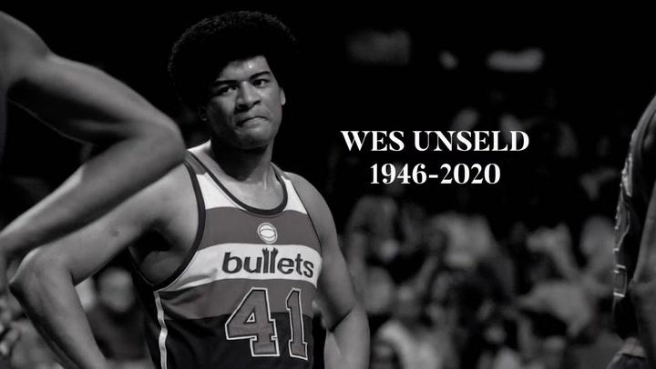 Tributro a Wes Unseld, exjugador de la NBA