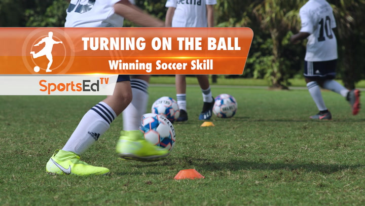 TURNING ON THE BALL - Winning Soccer Skill • Ages 10-13