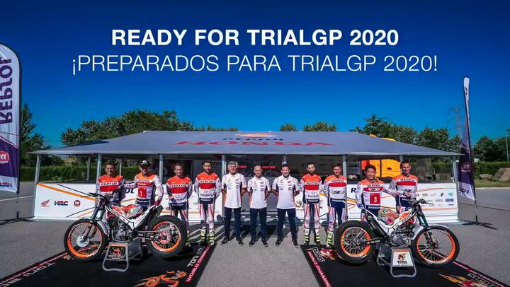 El Team Repsol Honda de Trial, preparado para iniciar la nueva temporada