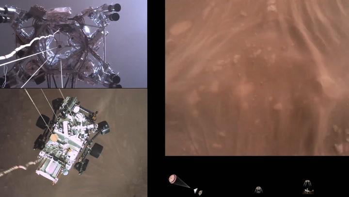 Watch NASA's Perseverance rover make its historic landing on Mars