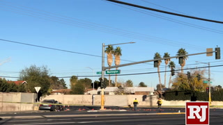 One dead in a suspected DUI crash in east Las Vegas