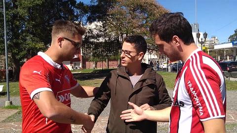 Dos amigos de Paraná y una apuesta de la cabeza