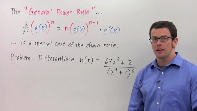 Chain Rule: The General Power Rule - Problem 3