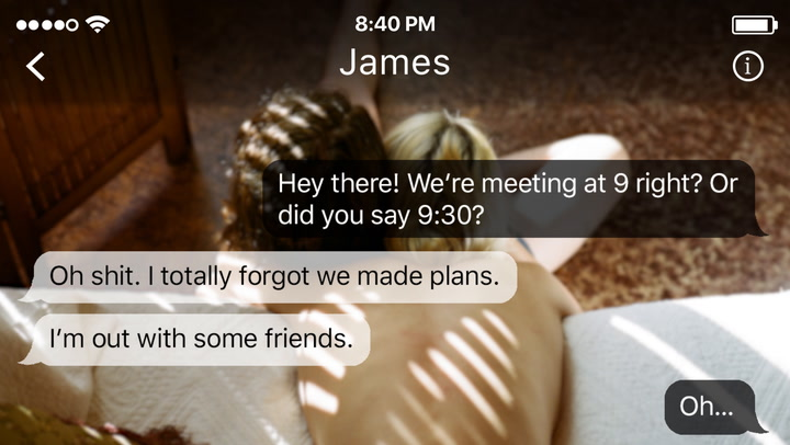 The Next Time Your Almost Boyfriend Cancels Plans, Send Him These Texts