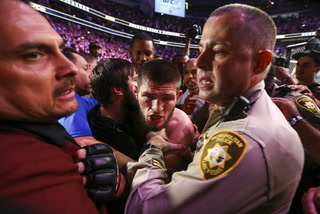 Covering The Cage: Khabib Remains Champion; Post Fight Brawl Ensues