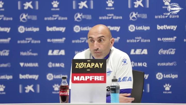 """Abelardo sobre su renovación: """"El tema de mi futuro está aparcado hasta final de temporada. No es bueno desviar la atención"""""""