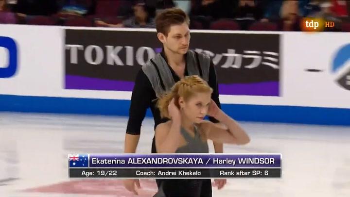 Fallece en Moscú la patinadora Alexandrovskaya
