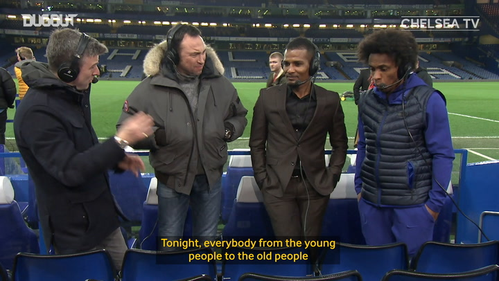 Willian focused on Wembley following victory over Liverpool