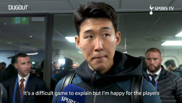 Heung-Min Son Sad To Miss Champions League Semi-final First Leg