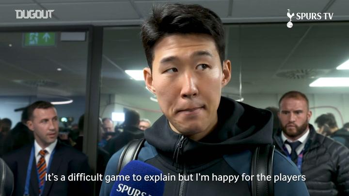 Heung-Min Son Sad To Miss Champions League Semi-final First Leg