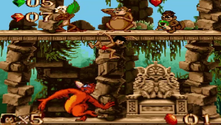 Disney Classic Games Collection re-release now includes The Jungle Book