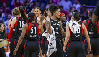 LV Aces defeat LA Sparks in season opener, 83-70 – VIDEO