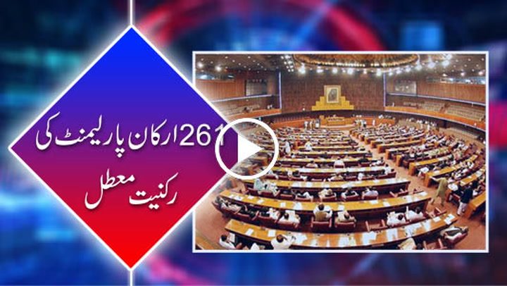 ECP suspends membership of 261 lawmakers over non disclosure of assets.
