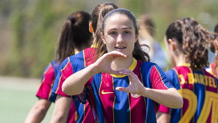 Bruna Vilamala pide paso con goles en el Barça del futuro
