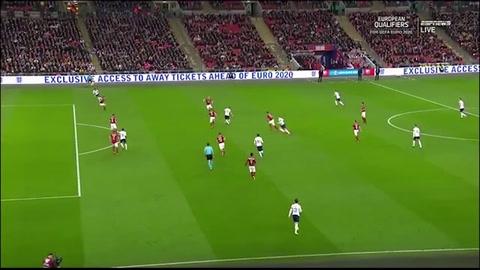 Inglaterra 5 - 0 República Checa