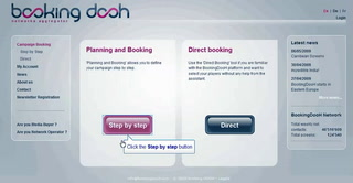 BookingDooH.com demonstration