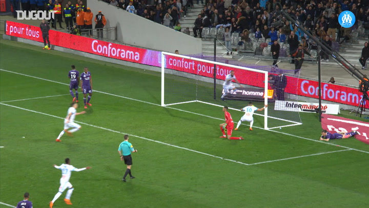 Payet's perfect link-up with Mitroglou vs Toulouse FC