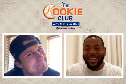J.D. and Dom reveal baseball heroes and cookie style!