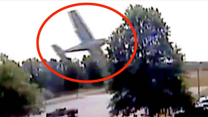 Småflypilot med mirakuløs landing etter trekrasj