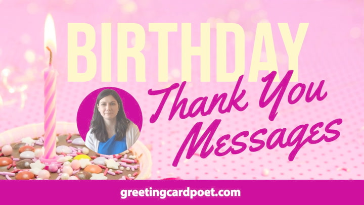 Strange Thank You For Birthday Wishes Appreciation For Greetings Personalised Birthday Cards Paralily Jamesorg