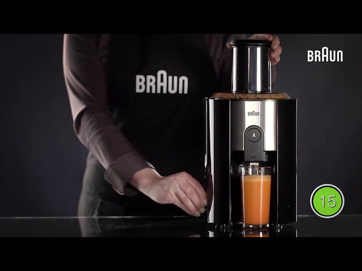 Preview image of Braun IdentityCollection Spin Juicer, J 500- Intui video