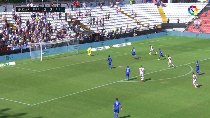 Gol de Falcao (3-0) en el Rayo Vallecano 3-0 Getafe