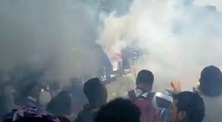 Así despidió la Ultra Fiel a aficionados fallecidos tras enfrentamiento con barra del Motagua