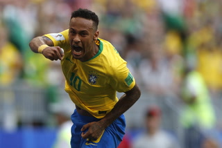 Brazil Beats Mexico 2-0 in World Cup Knockout