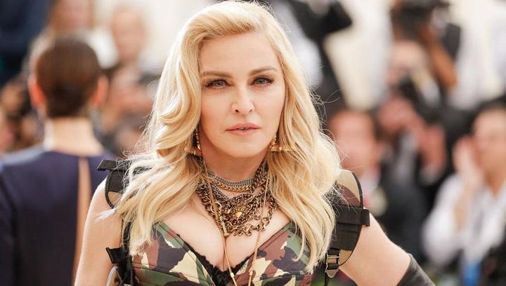 Madonna posa junto a sus seis hijos