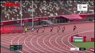 Andre De Grasse gana el oro en Tokio 2021 y es el sucesor de Usain Bolt en los 200 metros