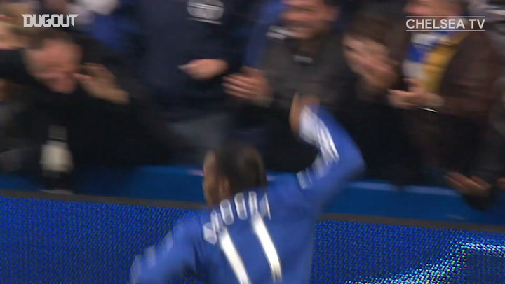 Drogba puts on a masterclass vs Arsenal