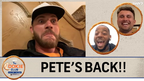 The Cookie Club with J.D. Davis and Dom Smith: Pete Alonso is back and bringing the laughs