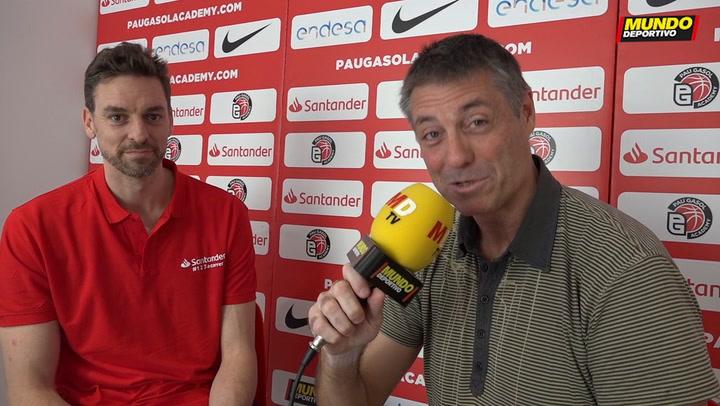 """Entrevista MD a Pau Gasol: """"Quiero recuperarme y seguir jugando al máximo nivel"""""""