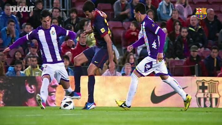 Sergio Busquets' Best Barça Skills