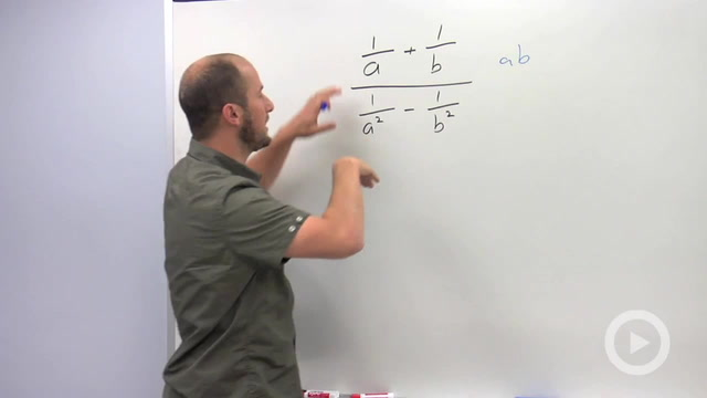 Simplifying Complex Fractions - Problem 1