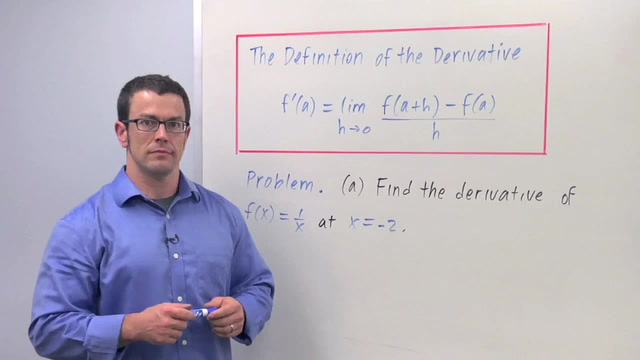 The Definition of the Derivative - Problem 3
