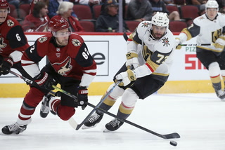 Golden Knights lose 4-1 to Coyotes – VIDEO