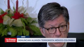 Denuncian alianza terrorista México-Colombia