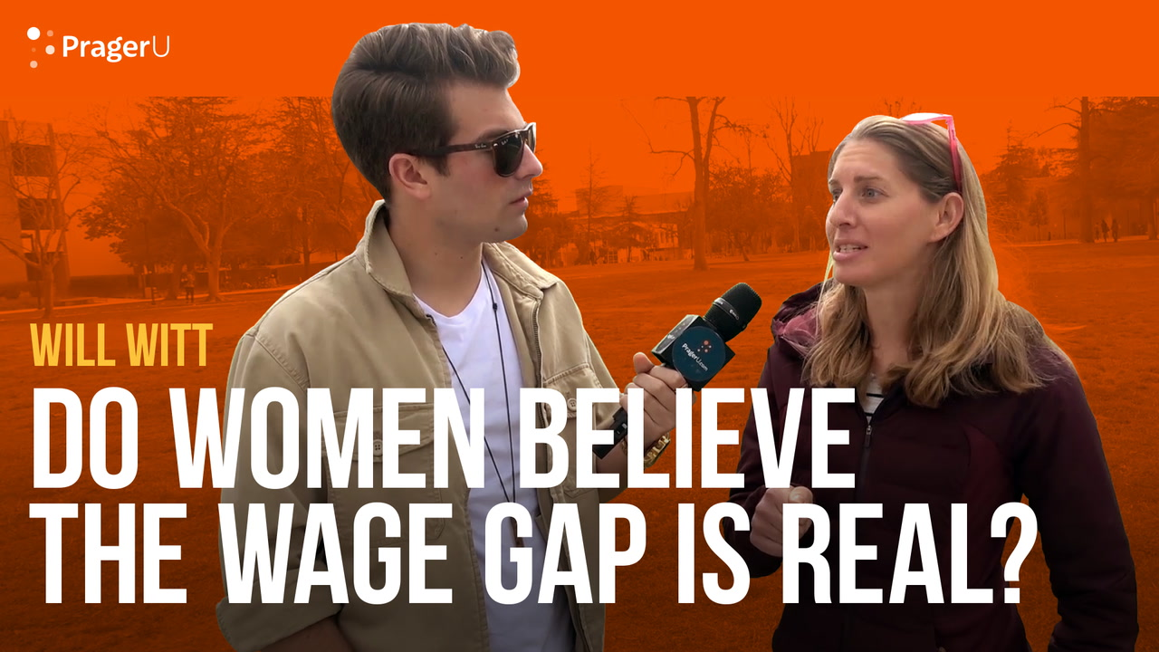 Do Women Believe in the Wage Gap?