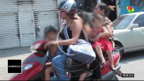Cuidado: el peligro de las motos combi