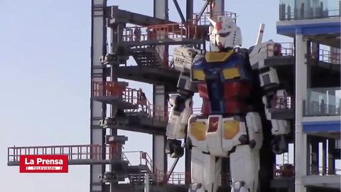 Robot gigante da sus primeros pasos en Japón