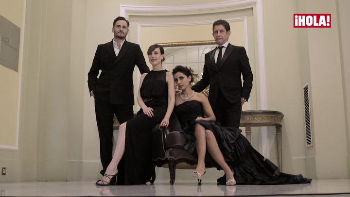 Cuatro nominados a los premios Goya posan para ¡HOLA! días antes de la gran noche del cine español