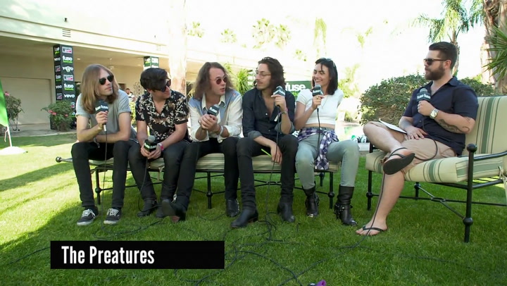 Preatures Talk Touring, Making It In America