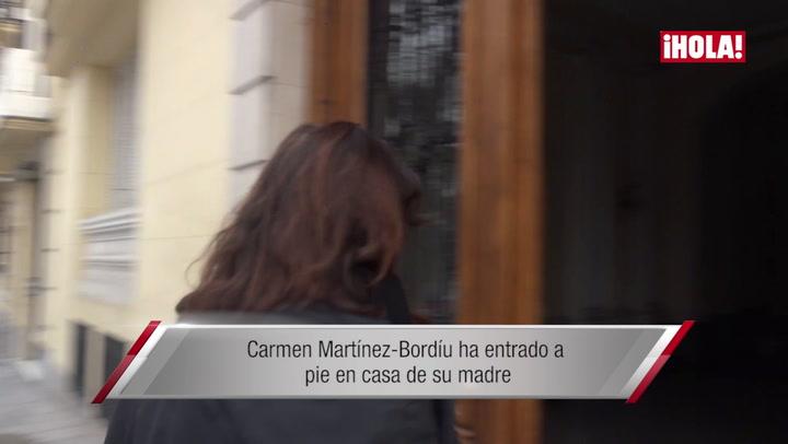 Cónclave en Madrid: la familia Franco se reúne en casa de la matriarca