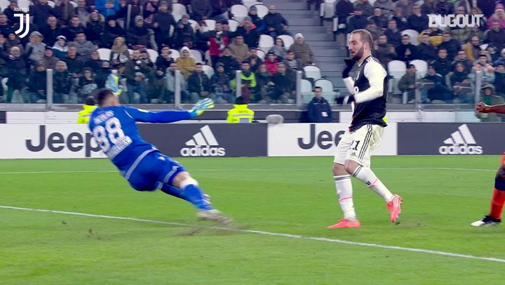 Higuaín finishes superb team move vs Udinese
