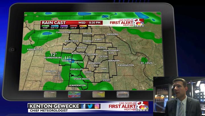 Weather Conditions - Columbia, Jefferson City, Mid-Missouri