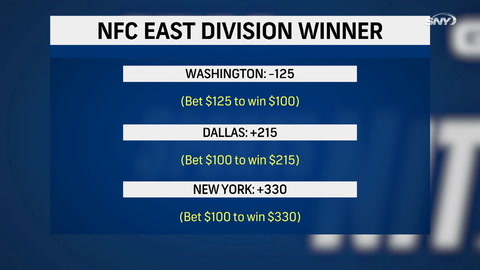Let's make a bet, who will win the NFC East?