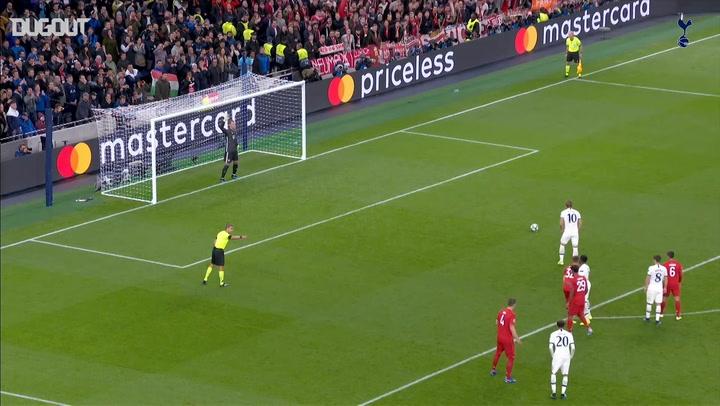 Harry Kane's Champions League goals 2019-20