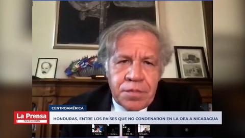 Países no condenaron en la OEA las violaciones a los derechos humanos en Nicaragua